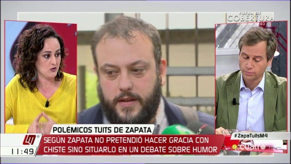 """Clara Alonso (Unidos Podemos) debate sobre Zapata: """"Se está utilizando la justicia en un sentido totalmente negativo"""""""