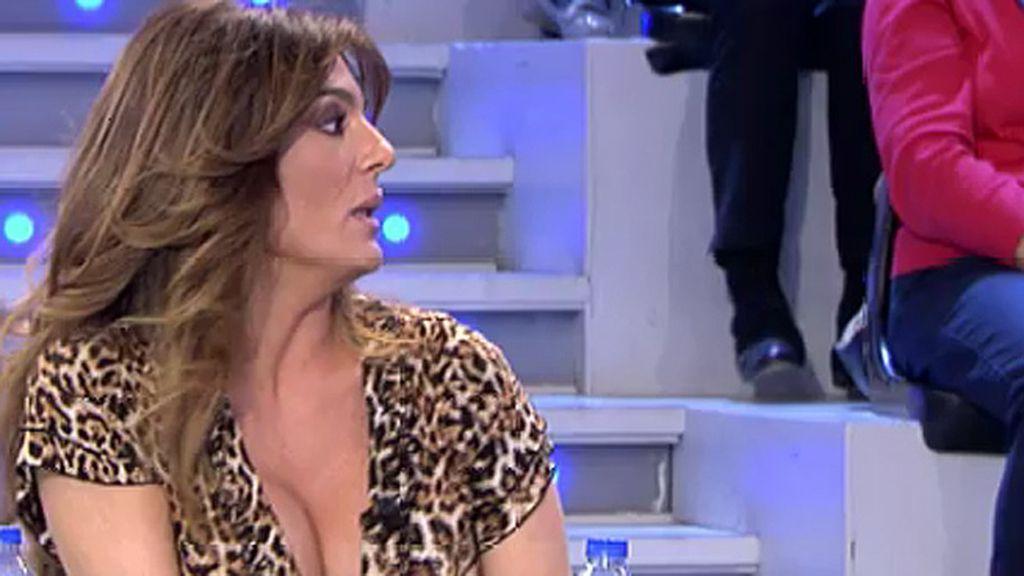 """""""Chabelita no niega haber visto a María del Monte, lo ha hecho en ocasiones contadas"""""""