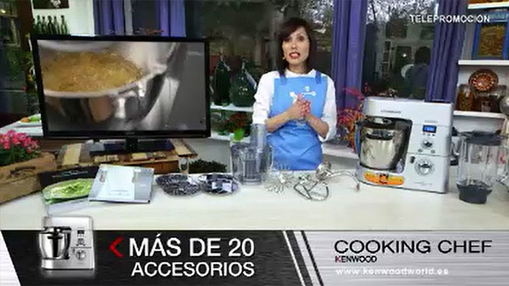 Nuevo robot de cocina de Kenwood