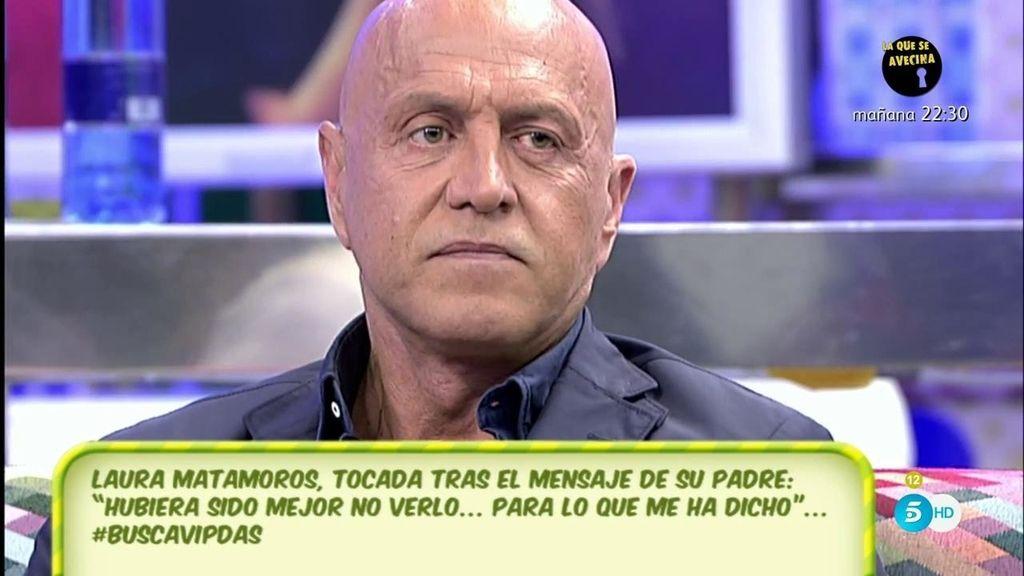 """Kiko Matamoros no irá a la final de 'GH VIP': """"He decidido no ir porque parece que mi hija no tiene mucho interés"""""""