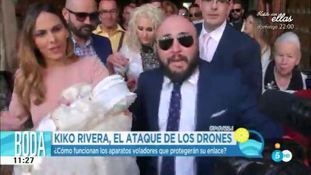 Kiko Rivera ha contratado drones para que nadie le reviente la exclusiva de su boda