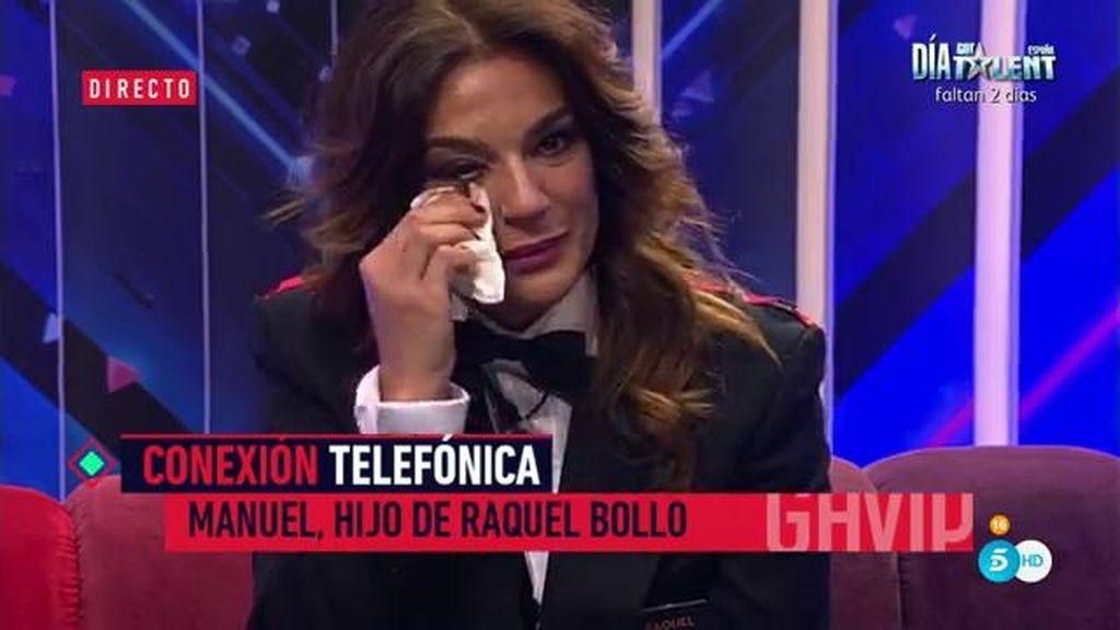 """Manuel, hijo de Raquel Bollo: """"No permitas que Aguasantas te ponga en la calle"""""""