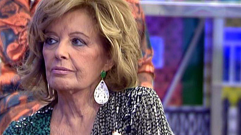 """Mª Teresa, ante una sorpresa relacionada con 'El Príncipe': """"Yo ya tengo uno"""""""