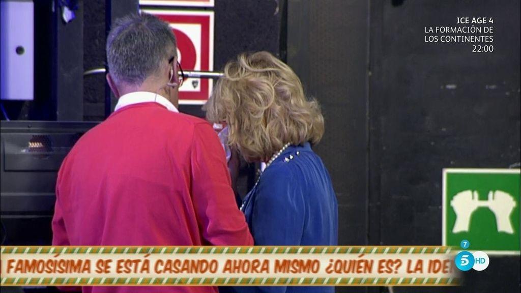 Mila abandona el plató llorando por su dura pelea con Terelu Campos