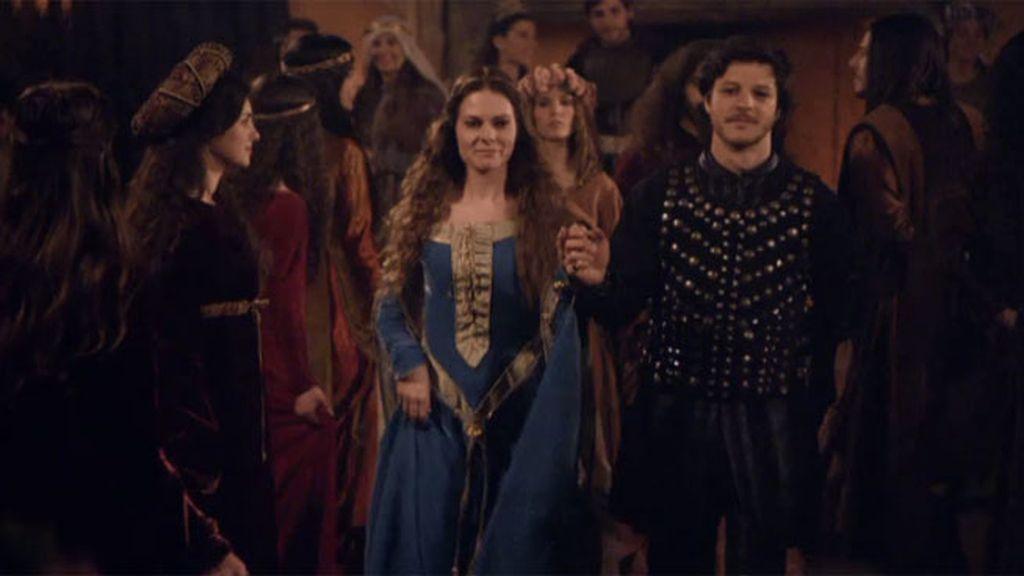 Los Capuleto anuncian el compromiso de su hija Úrsula con el Conde Paride