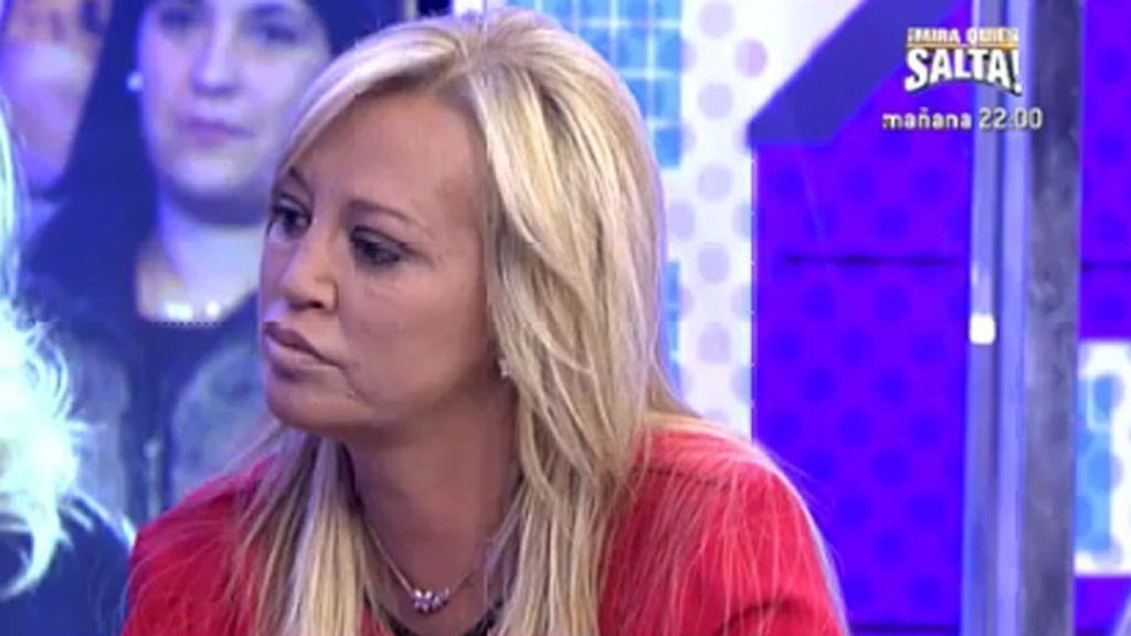 """Belén Esteban, a Remedios Torres: """"Mi hija no le toca nada, ni a ella ni a la otra"""""""
