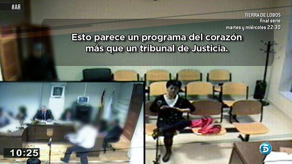 Porto, a la defensiva cuando el juez le pregunta por su amante en su segunda declaración