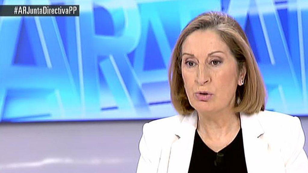 """Ana Pastor: """"En Marruecos el Estado ha tenido una diligencia inmediata"""""""