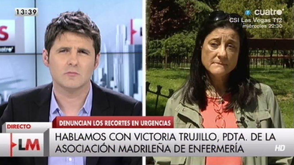 Personal de enfermería de La Paz denuncia en el juzgado la situación de urgencias