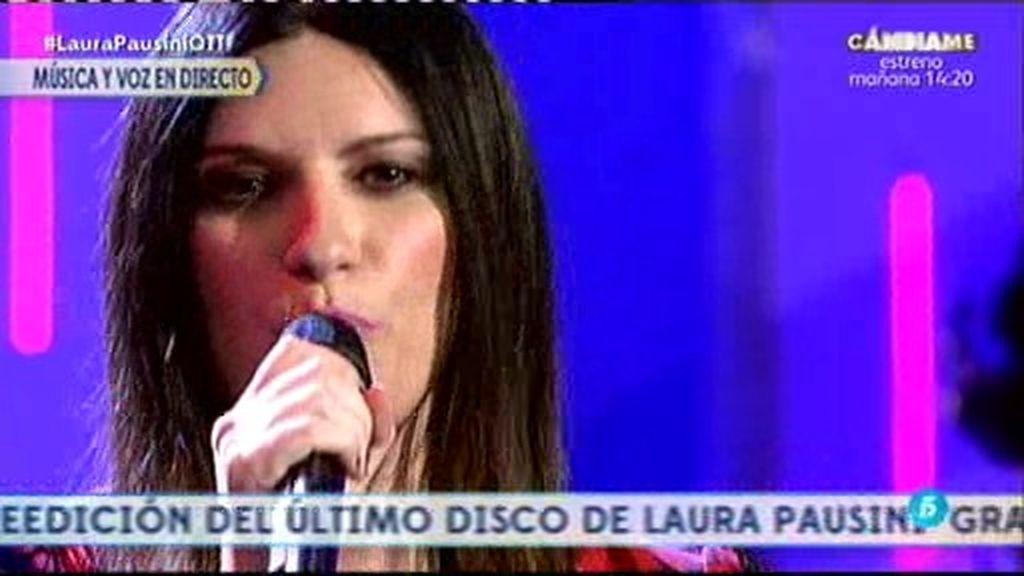 Laura Pausini interpreta un popurrí de sus mejores canciones en '¡QTTF!'