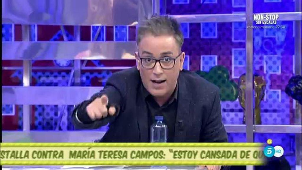 """Kiko Hernández, a Matamoros: """"Cada vez que le des palos a Mila, le sumas votos"""""""