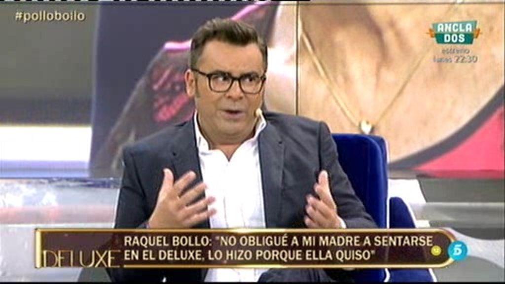 """J.J. Vázquez, a Raquel: """"Te crees que tienes la habilidad de desviar la atención"""""""
