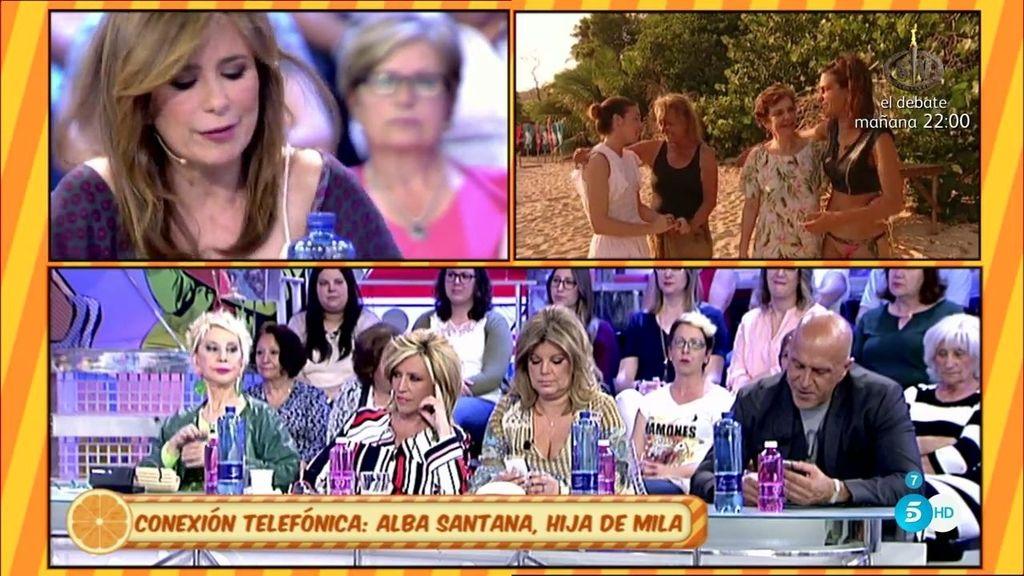 """Alba Santana: """"Me daría pena que ahora no podamos ver a Mila disfrutando de 'SV"""""""