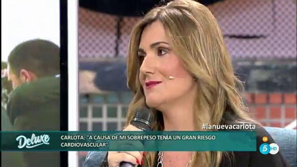 Carlota Corredera corría un grave riesgo cardiovascular con su sobrepeso
