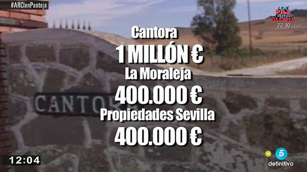 La complicada situación financiera de Isabel Pantoja
