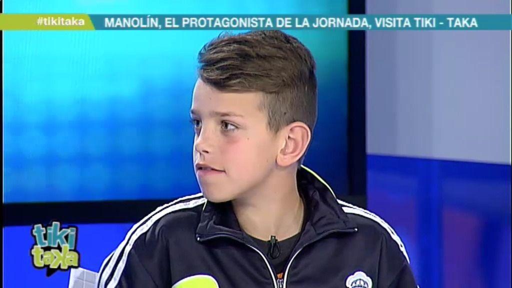 Manolín explica en Tiki Taka dónde se escondió con la camiseta de Cristiano