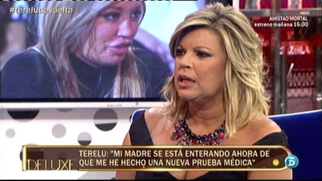 """Terelu: """"Tuve que hacerme una prueba médica y mi madre se acaba de enterar"""""""