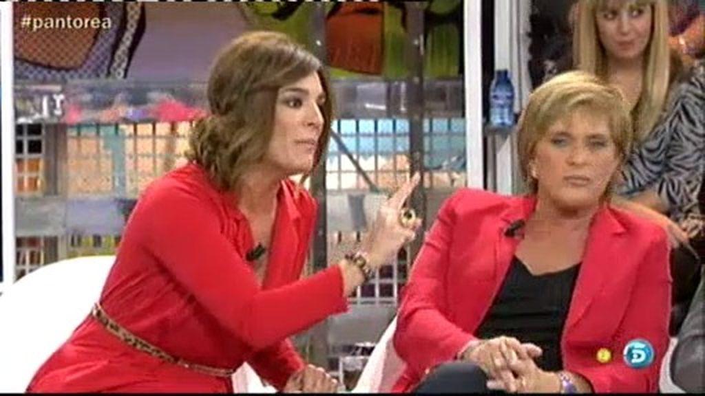 """Raquel estalla contra Chelo: """"Una amiga no hace lo que has hecho tú con Isabel"""""""
