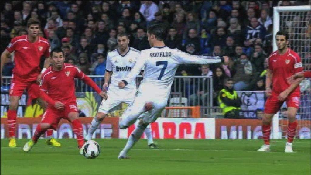 Real Madrid - Sevilla: 'La folha seca'