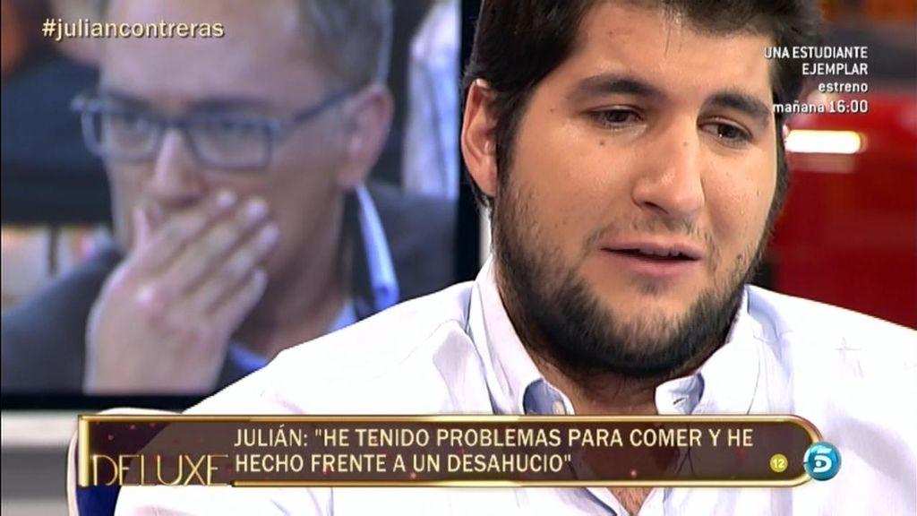 """Julián Contreras: """"He tenido problemas para comer y he hecho frente a un desahucio"""""""
