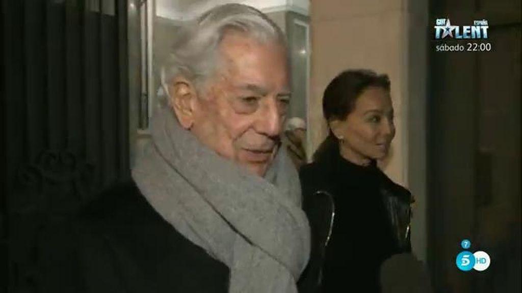 Mario Vargas Llosa e Isabel Preysler, velada romántica en el cine