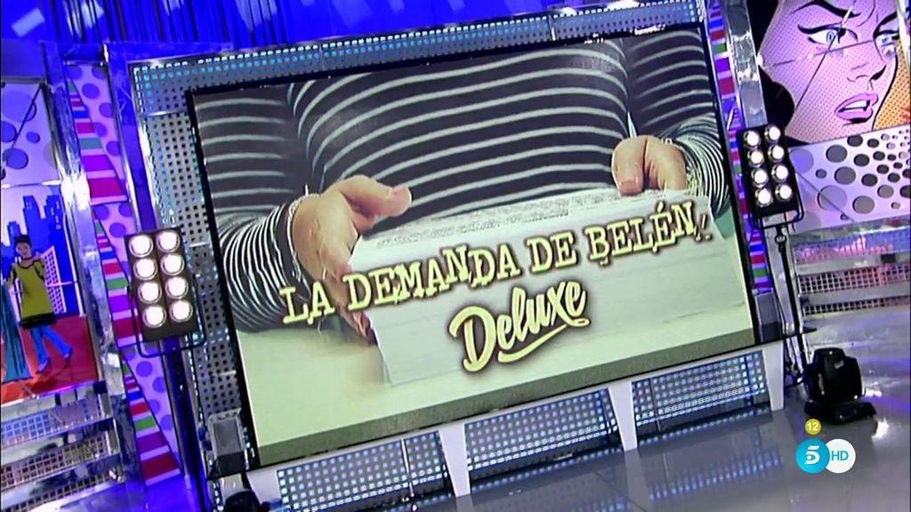 La demanda de Belén Esteban, en el 'Deluxe'