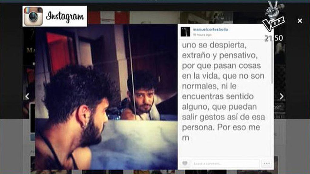 """Manuel Cortés: """"¿Qué he hecho mal? Seguir siendo como soy y sentirme orgulloso"""""""