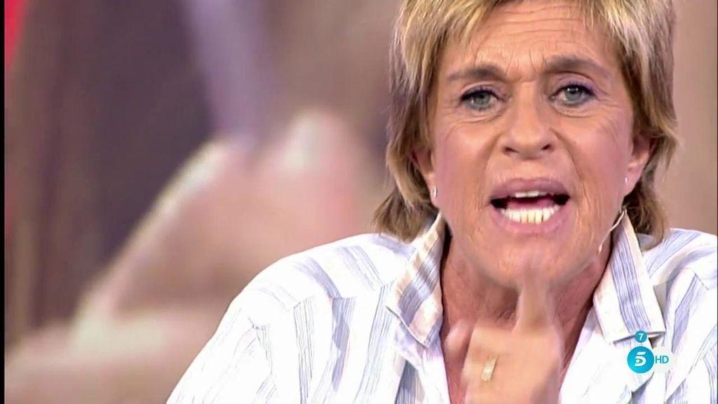 """Chelo Gª Cortés desmiente a Nagore Robles: """"En mi vida hablado contigo de Mila Ximénez"""""""