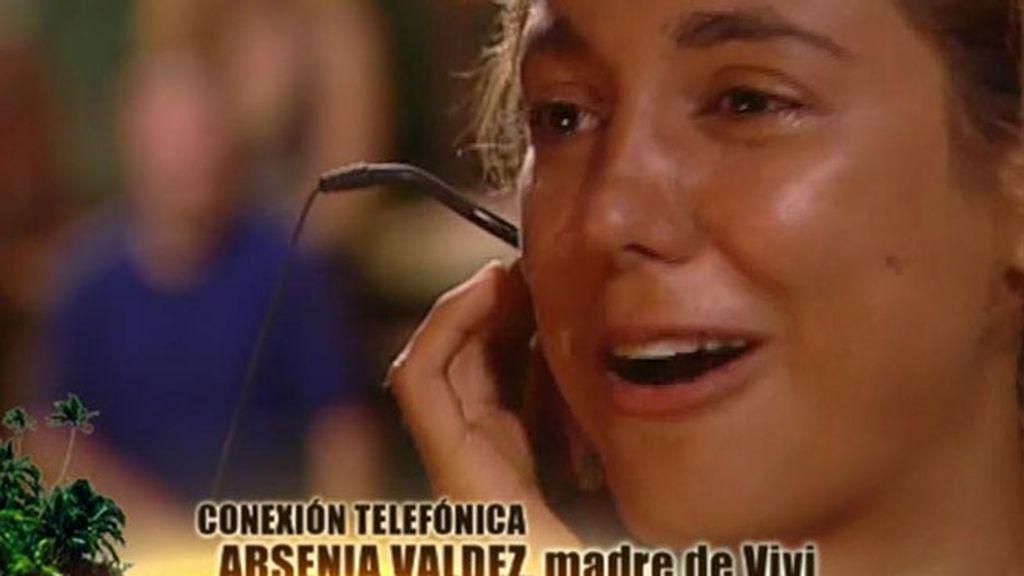 Viviana Figueredo recibe una emotiva llamada por su cumpleaños