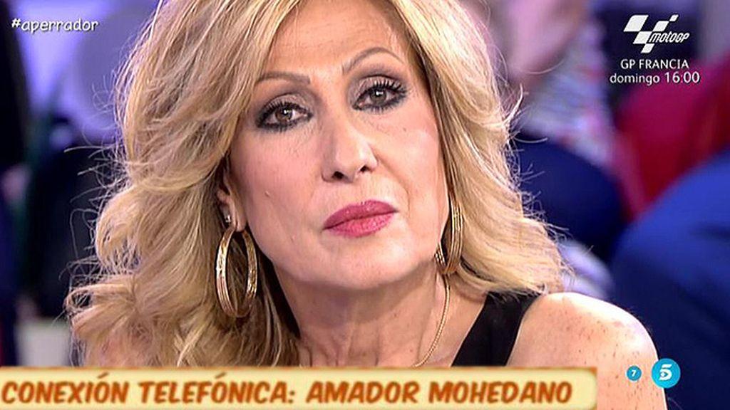 """Amador Mohedano: """"Siempre he dicho que Rosa es la más guapa que sale en televisión"""""""