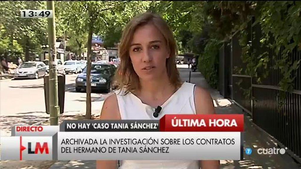 """Tania Sánchez, tras el archivo de su causa: """"Sabía que esto iba a pasar"""""""