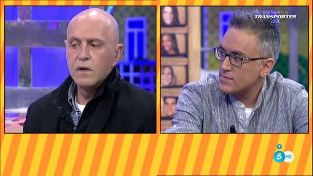"""Kiko H., de 'GH VIP': """"Mañana, Makoke y Diego Matamoros en Telecinco, los dos"""""""