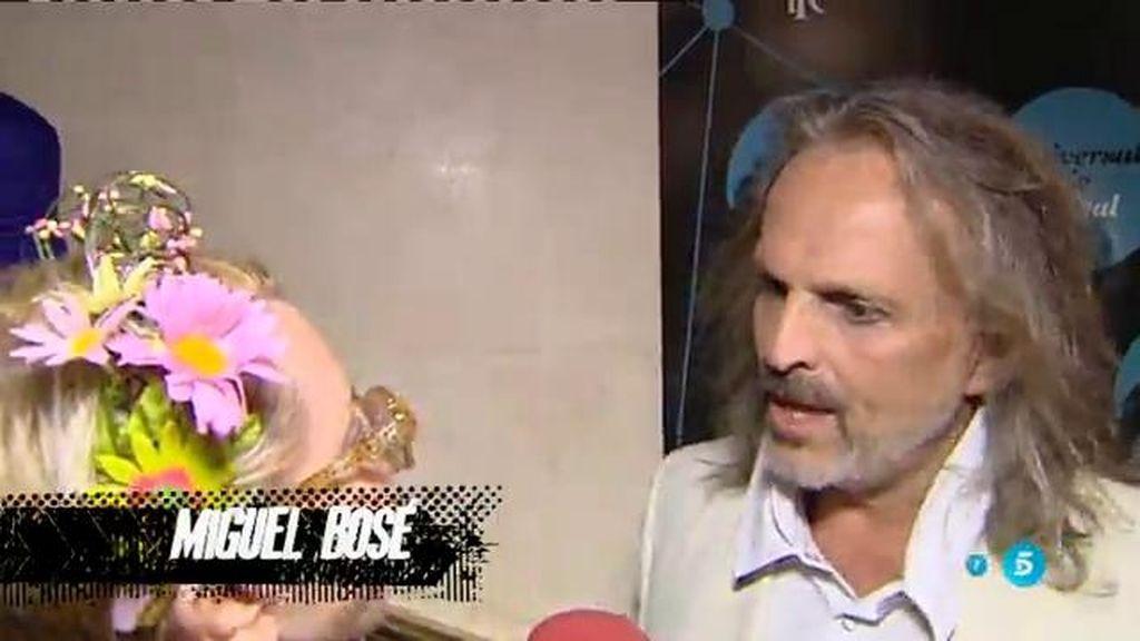 Karmele Marchante consigue sacar de quicio a Miguel Bosé en 'Diario Ka'