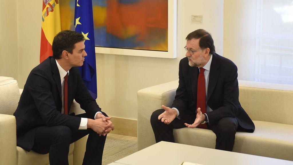 """Pedro Sánchez le dice que """"no"""" a Rajoy"""