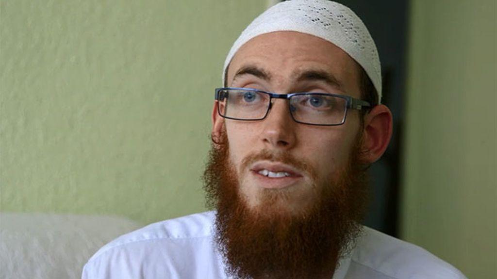 """David, 'converso' al Islam: """"No sé si es correcto o no lo que hace el Estado Islámico"""""""