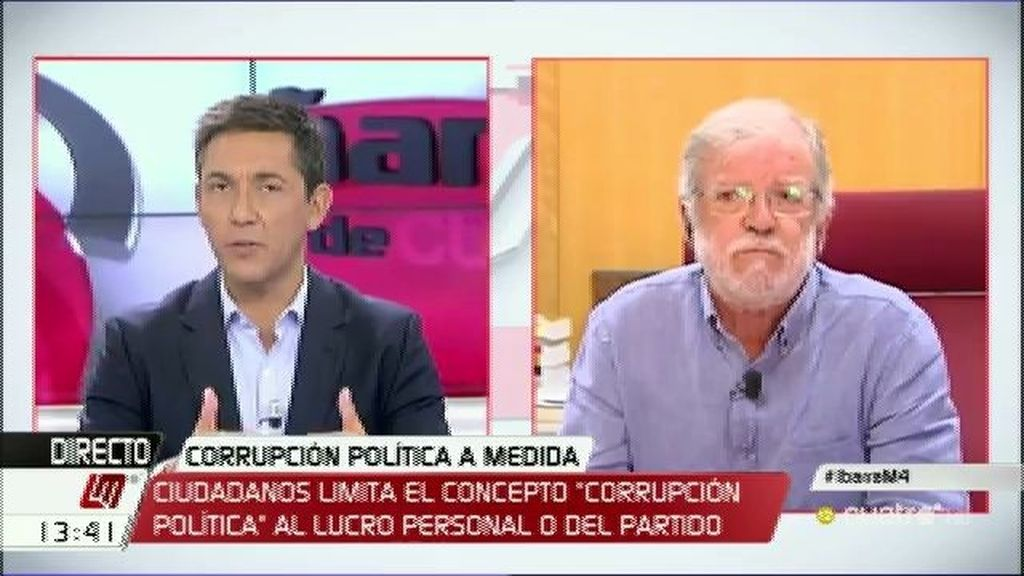 """Ibarra: """"Albert Rivera debería pedir perdón a Chávez y Griñán si no quiere ser corrupto"""""""