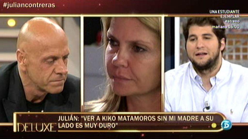 """Julián: """"Tenía la necesidad de alejarme de Kiko porque me recordaba a mi madre"""""""