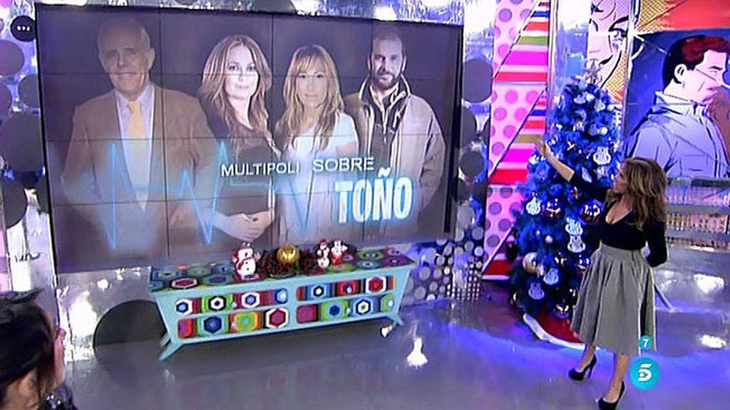 Pregunta 'Multipoli': ¿Te dijo Toño Sanchís que el topo era la madre de Belén Esteban?