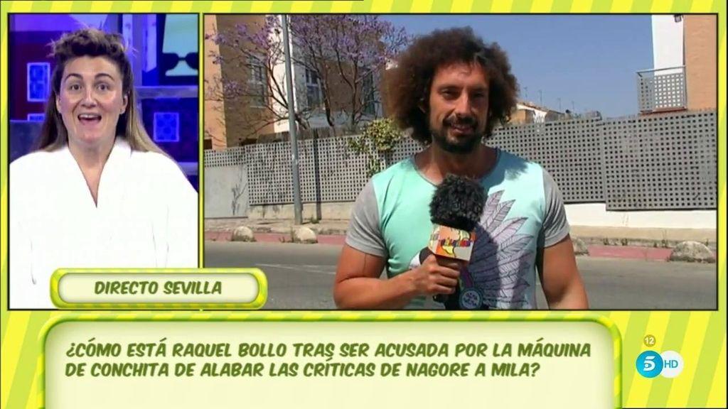 """J.A. León nos cuenta cómo está Raquel Bollo tras el 'poli': """"Está pasándolo mal"""""""