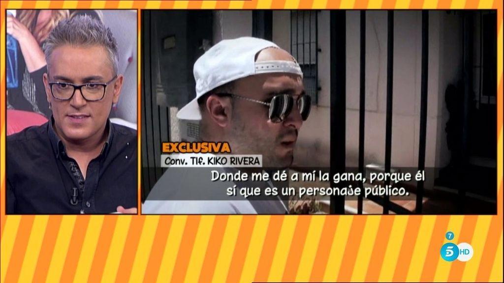"""EXCLUSIVA. Kiko Rivera: """"El señor Kiko Hernández vuelve a tener otra demanda"""""""