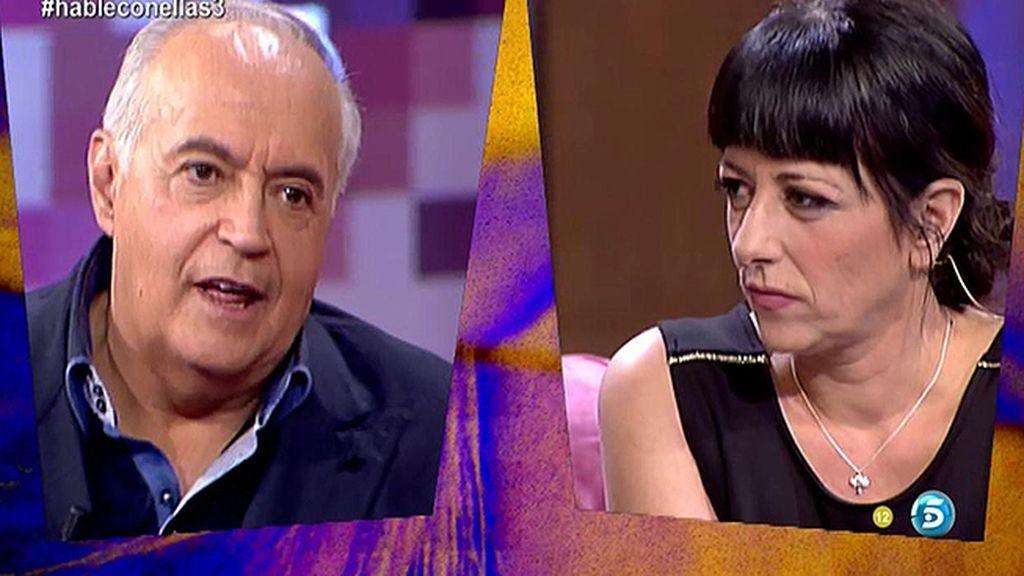 La secuencia completa del enfado de José Luis Moreno en 'Hable con ellas'