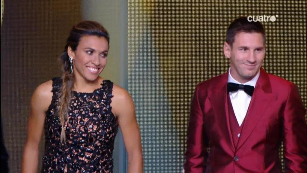 Así han sido los 'modelitos' de la alfombra roja: Messi vuelve a deslumbrar