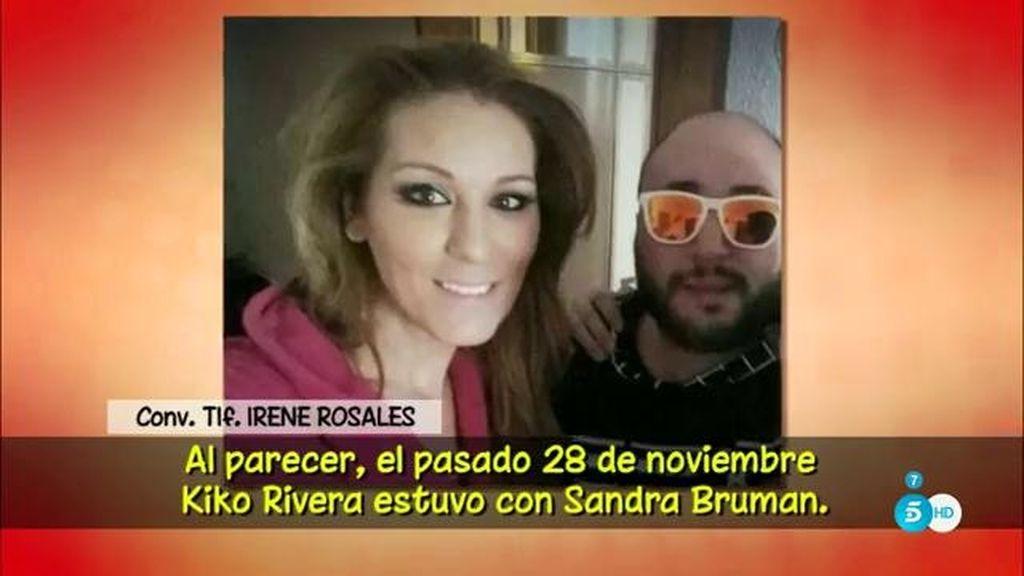 Irene Rosales no cree lo que Sandra Bruman cuenta de su pareja, Kiko Rivera