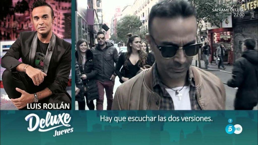 """Luis Rollán se sentará en el 'Deluxe' y avisa: """"Voy sin colorantes, sin aditivos y sin filtros"""""""
