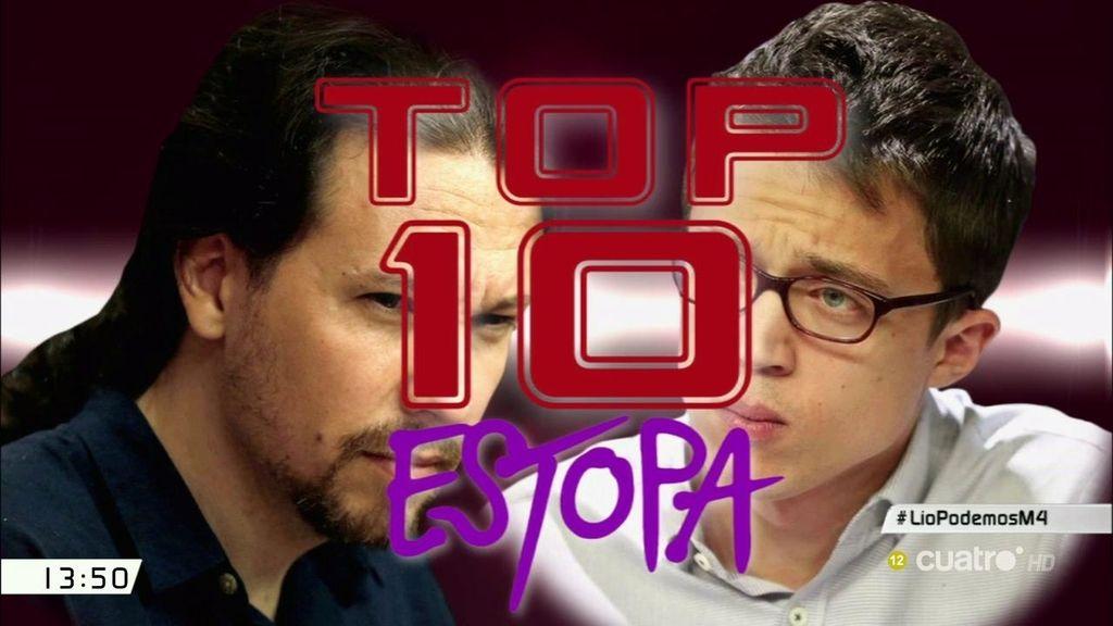 El ranking de 'desencuentros' entre Pablo Iglesias e Iñigo Errejón