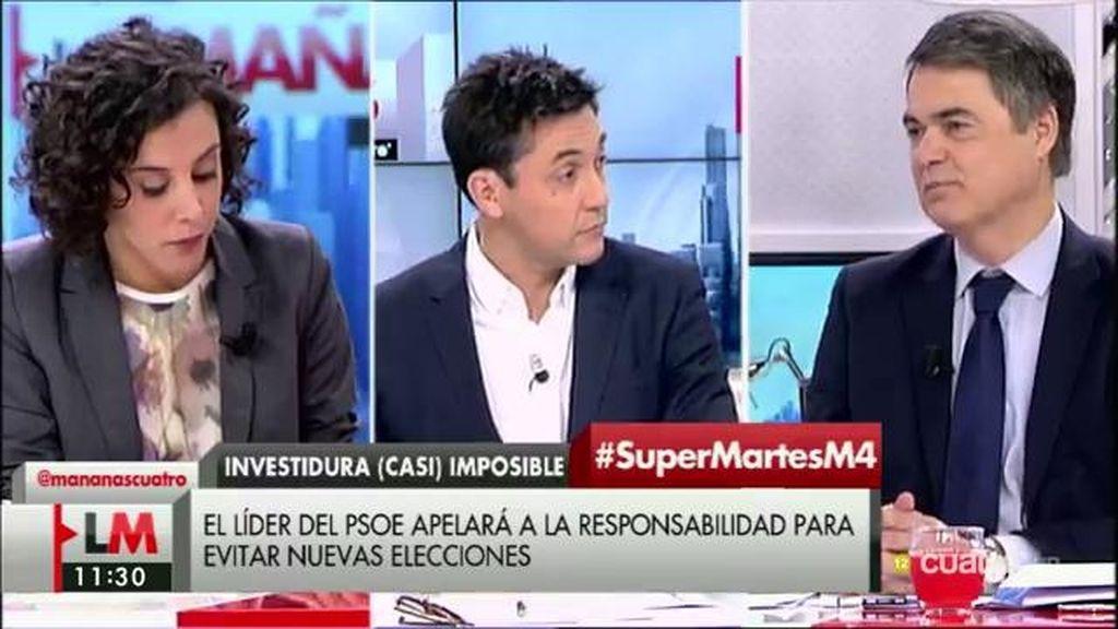 """C. Rojas (PP): """"Sánchez se ha empeñado en ser presidente, aunque sea por un día"""""""