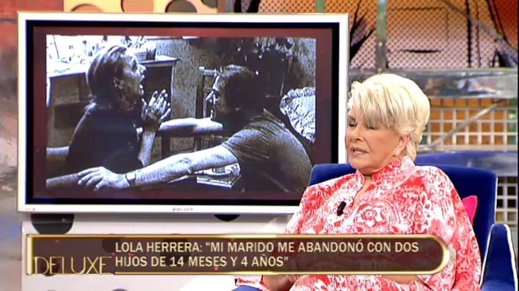 """Lola Herrera: """"Las madres y los padres no deben malmeter a sus hijos…eso es delictivo"""""""