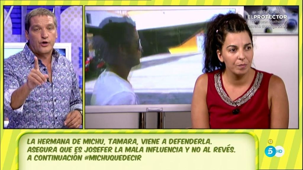 """Tamara, hermana de Michu: """"Se la está tachando de mala influencia y el malo es él"""""""