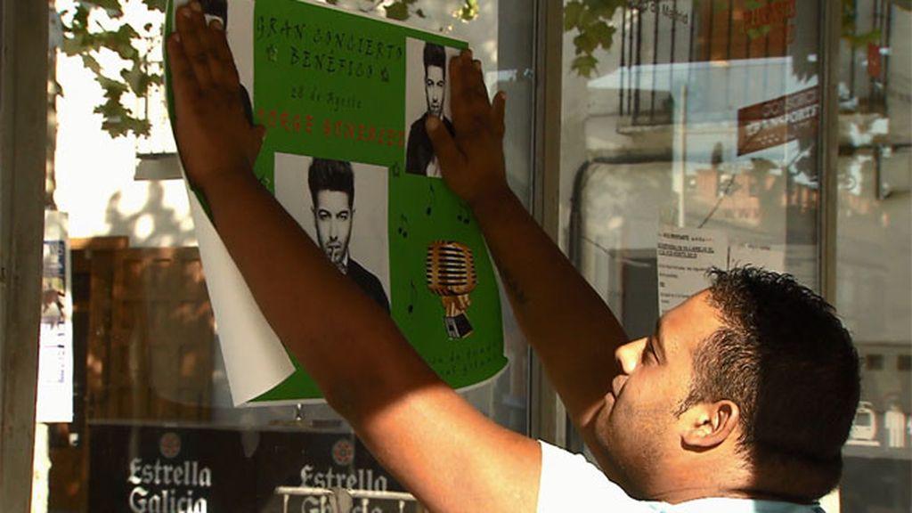 """Jorge: """"Un artista nunca pega sus carteles, pero como yo soy humilde y cercano…"""""""