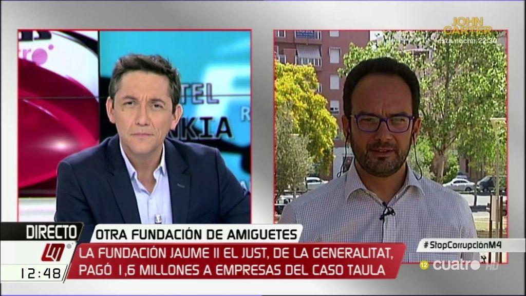 La entrevista de Antonio Hernando, a la carta